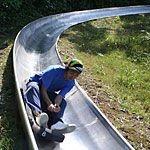 小樽天狗山スライダーに挑戦!