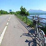 函館レンタサイクルで湖を一周できる!