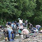 【北海道】中頓別のペーチャン川で砂金掘り体験