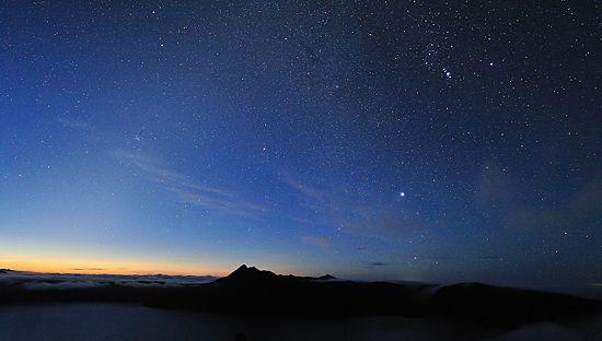 摩周湖の星