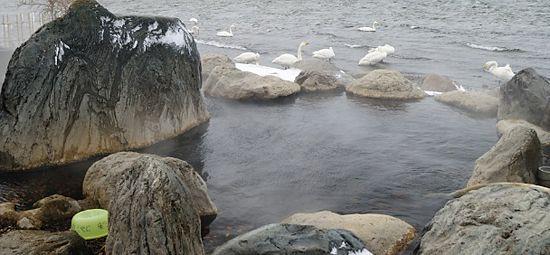 屈斜路湖コタン温泉