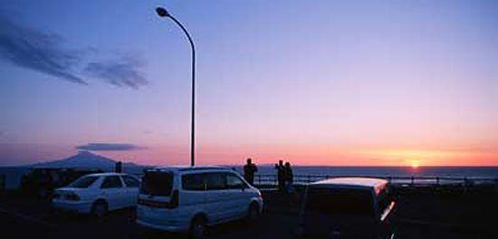 夕日が丘パーキングエリア